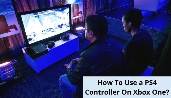 PS4 controller on Xbox one